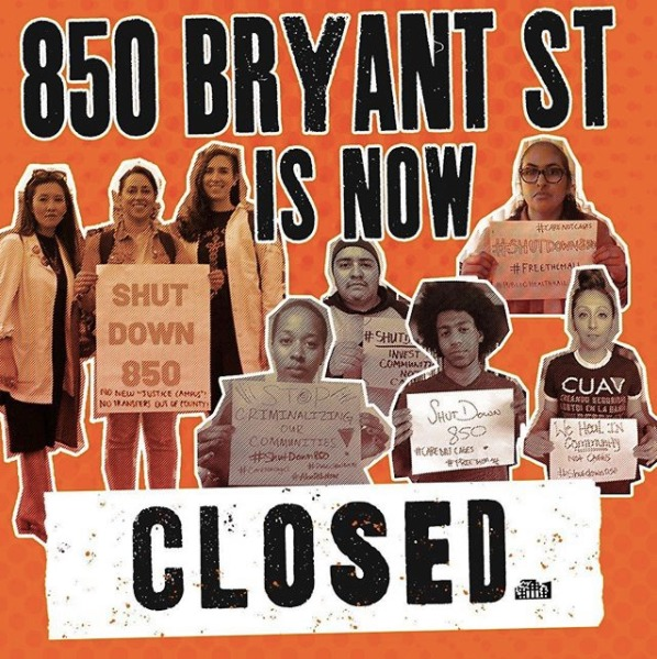 850-Bryant-St-is-now-CLOSED-meme, We've done it: 850 Bryant St. jail shutters its doors, Behind Enemy Lines