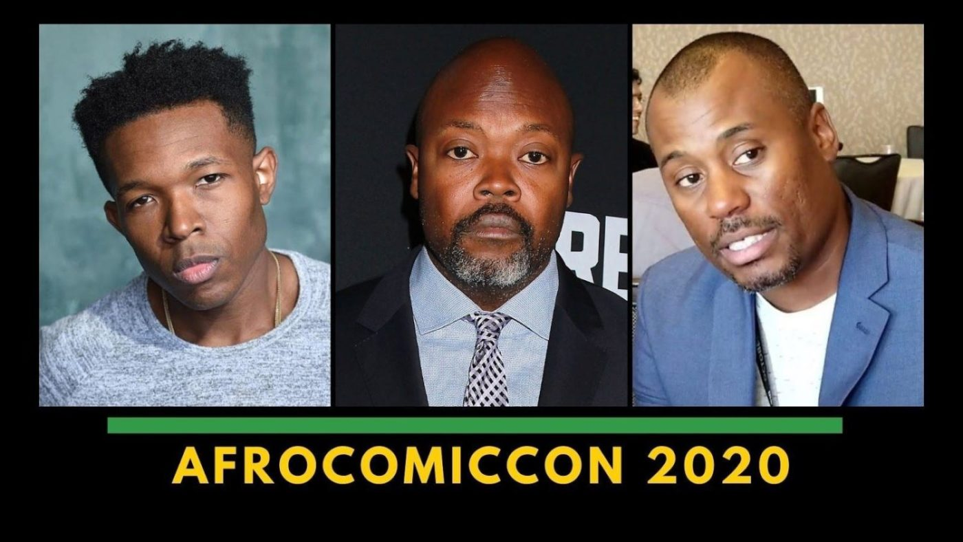 AfroComicCon-2020-graphic-1400x788, Virtual AfroComicCon to feature creators and stars of 'Black Panther' Luke Cage and 'Batman: Hush', Culture Currents