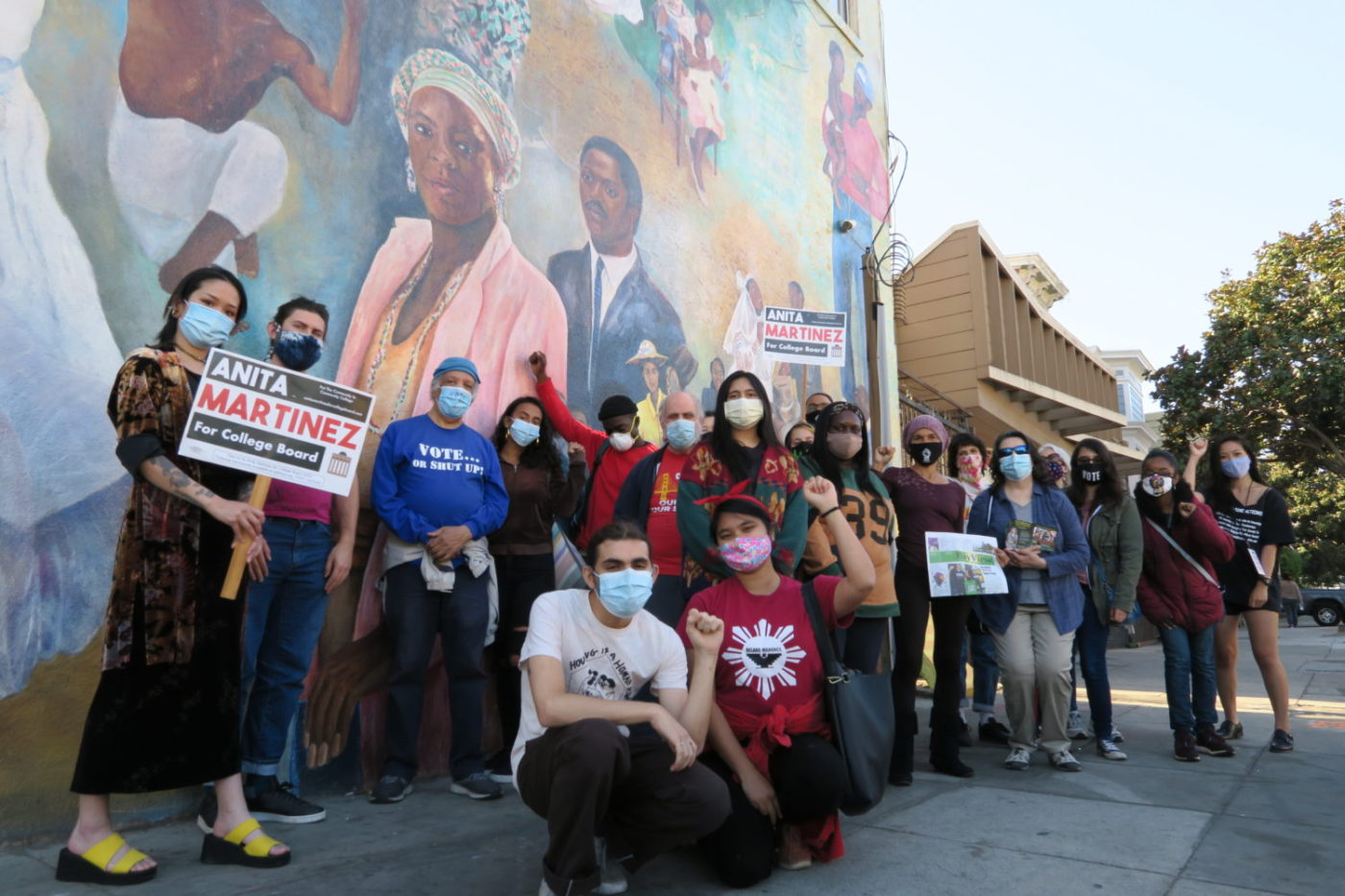 City-College-CCSF-Collective-BSU-SFBV-combine-forces-at-Palou-mural-102620-by-David-Horowitz-1400x933, Our culture of resistance: Dismantle institutional racism at City College now, Local News & Views