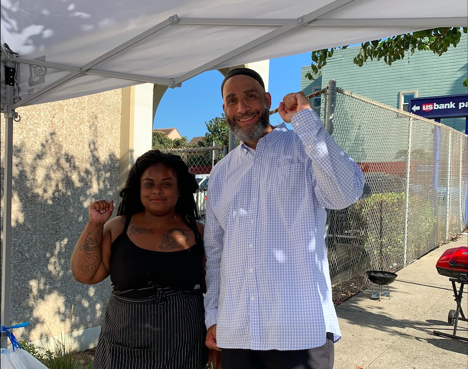Jacquelin-and-Malik, Jacquelin's BBQ on Quesada and Third, BayViewTV Real Talk with the Bay View