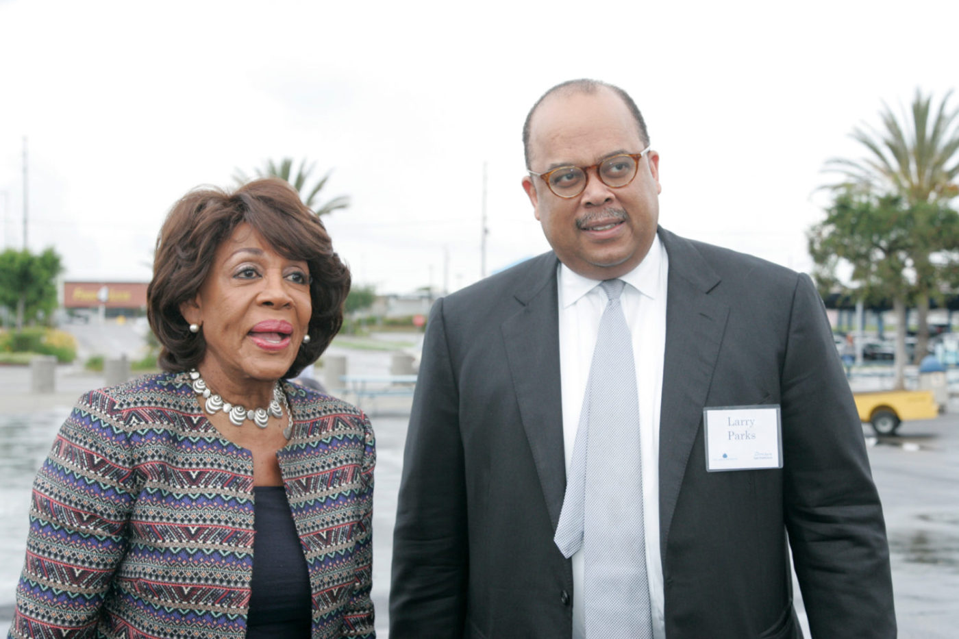 Lawrence-Park-with-Maxine-Waters-1400x933, Two Black former executives sue the Federal Home Loan Bank of San Francisco over racial discrimination, National News & Views