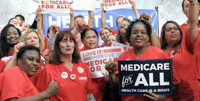 National-Nurses-United-rally-for-Improved-Medicare-for-All, Voting against, not for, a candidate, National News & Views