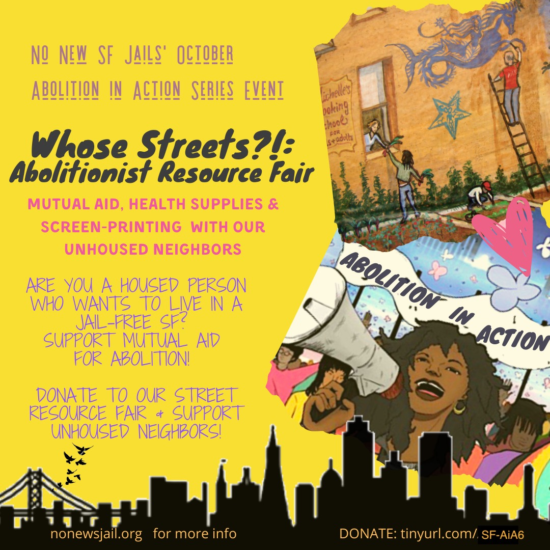 Whose-Streets-Abolitionist-Resource-Fair-poster, Free them all! Rename all jails, prisons and other detention facilities in California for Gov. Newsom, Local News & Views