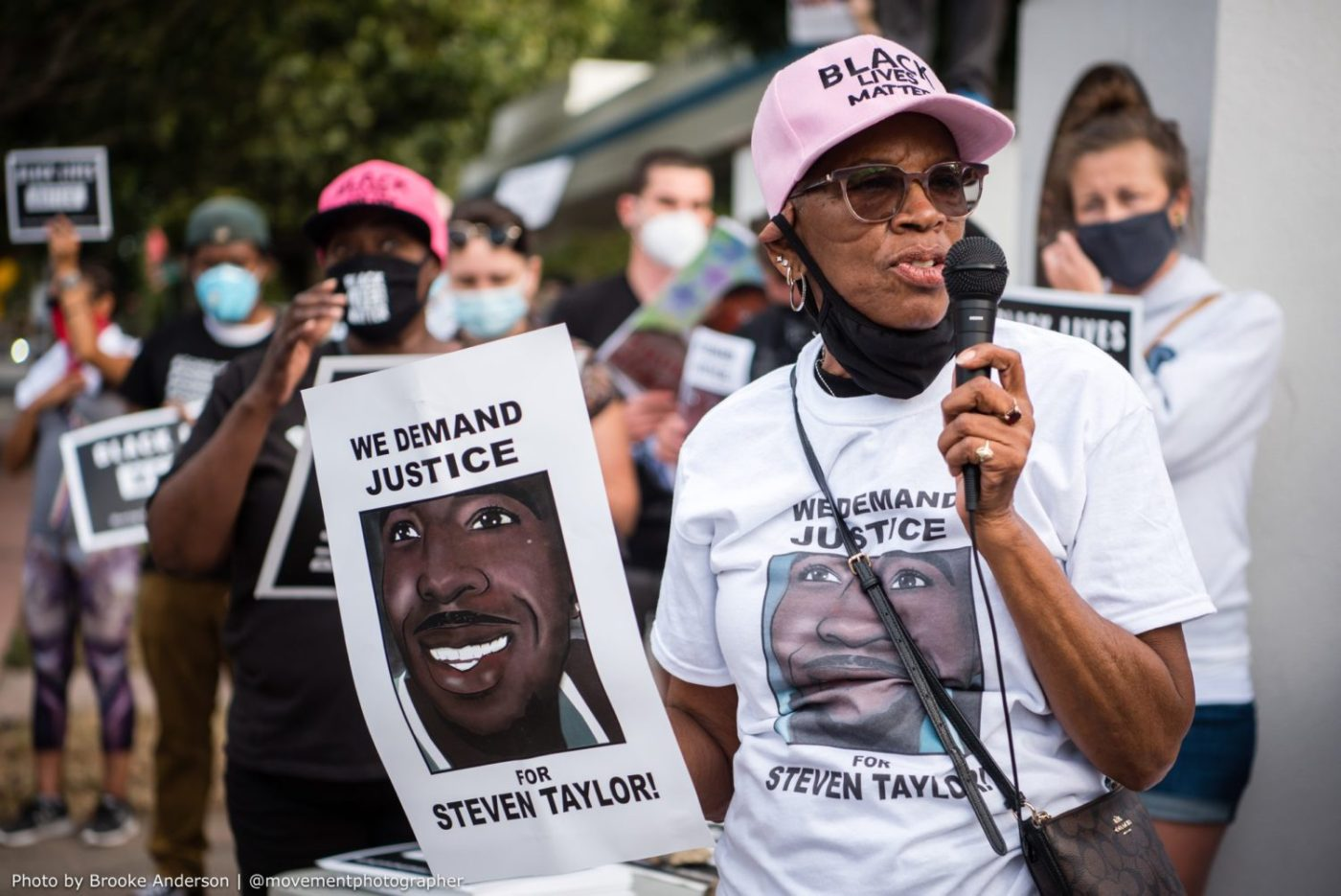 Addie-Kitchen-grandmother-of-San-Leandro-police-victim-Steven-Taylor-leads-rally-by-Brooke-Anderson-@movementphotographer-1400x935, Steven Taylor's Addie Kitchen: A grandmother's fight for justice, Local News & Views