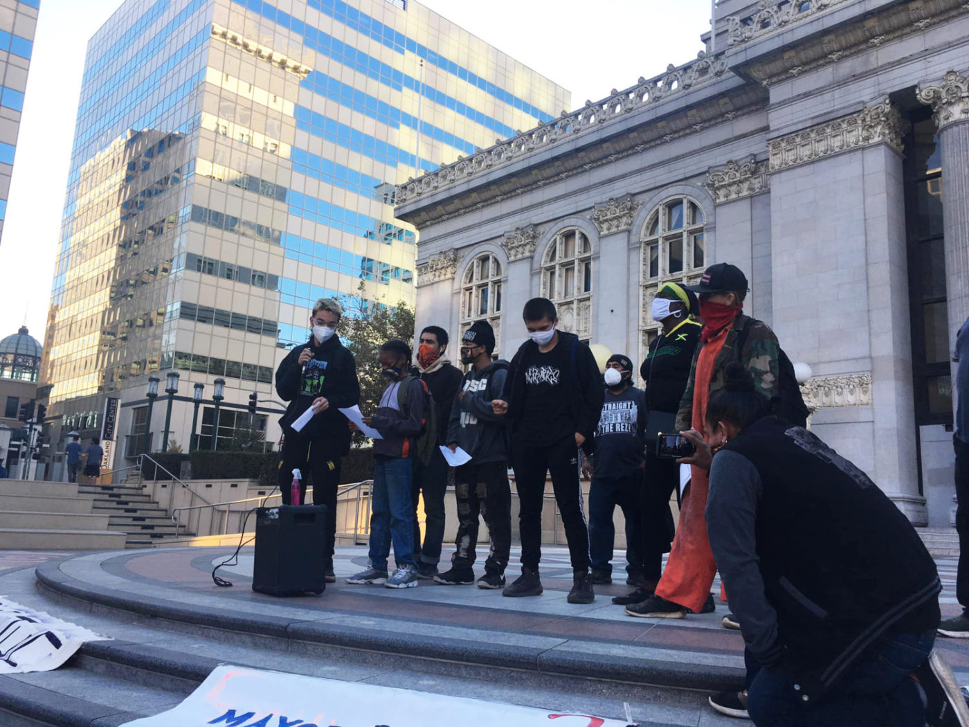 All-out-against-Encampment-Mgt-Plan-at-Oakland-City-Hall-1120-by-PNN-1400x1050, POOR 'tours' the Tenderloin demanding housing and reparations for 500 houseless San Franciscans facing motel evictions, Local News & Views