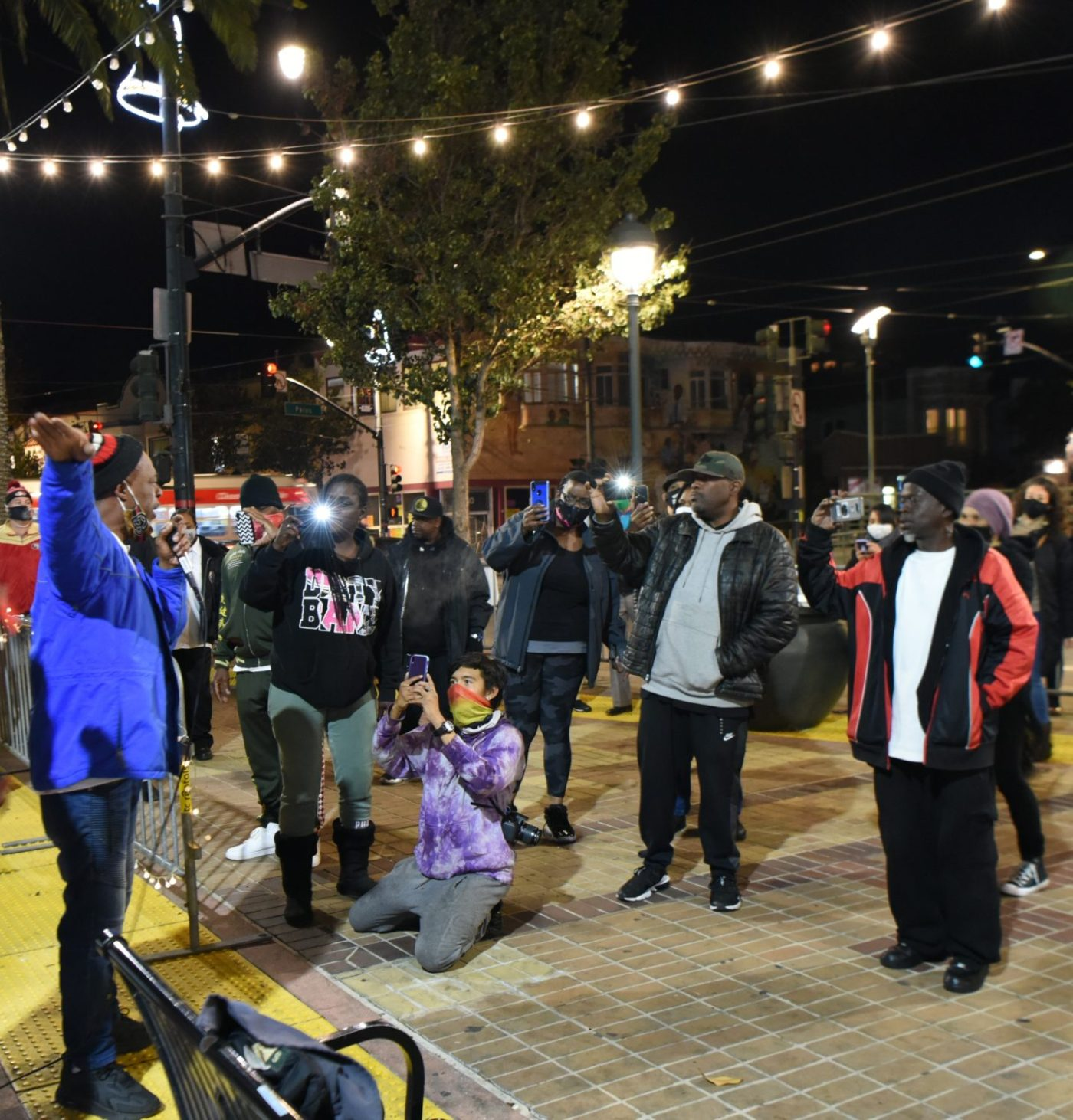Celebrating-Bayview-Hunters-Point-Community-Mendell-Plaza-crowd-Ezra-photographs-Ravaa-112020-by-Johnnie-Burrell-2-1400x1462, A look at the Bay View's fabulously successful 2020 fundraiser!, Culture Currents