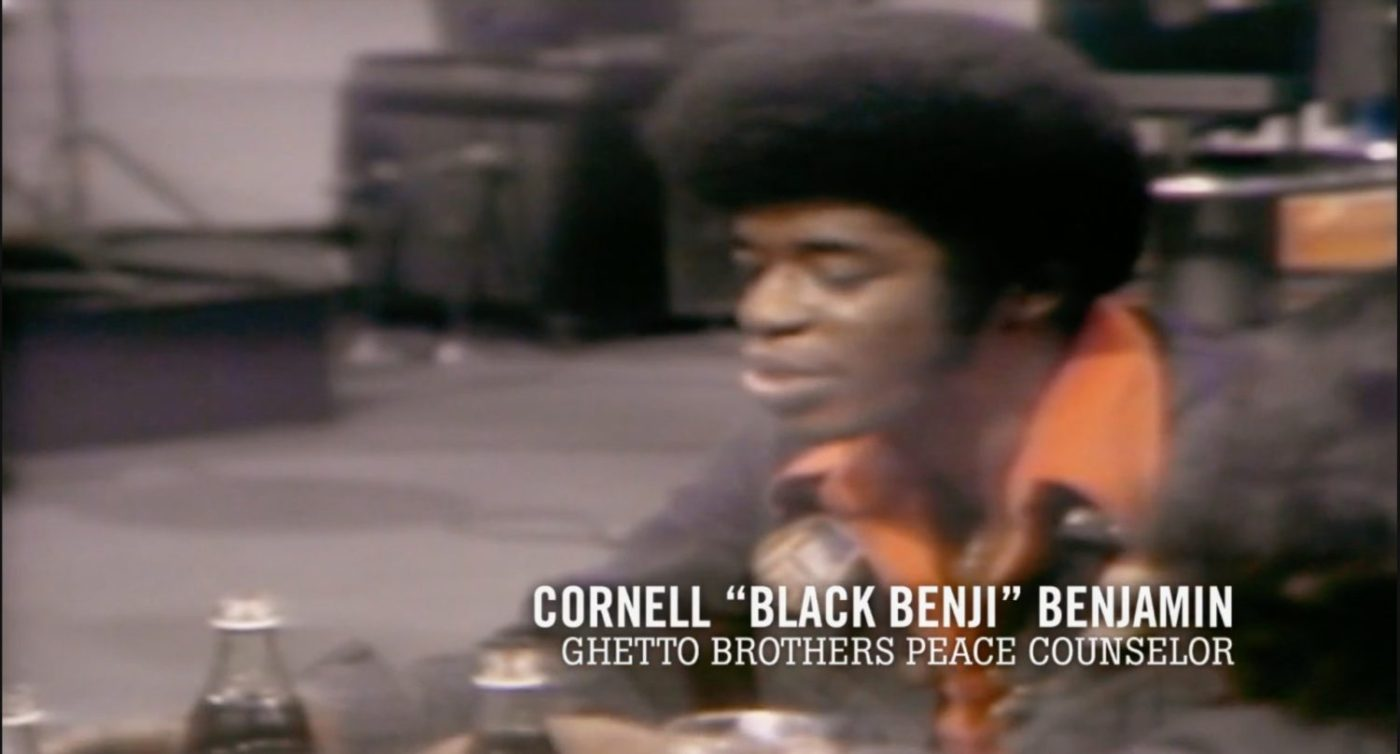 Cornell-'Black-Benji-Benjamin-Ghetto-Brothers-peace-counselor-1400x754, 'Rubble Kings': How the violence stopped and hip hop emerged in the South Bronx, Culture Currents