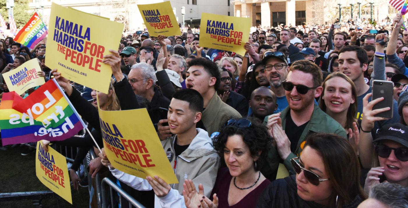 Crowd-cheers-as-Kamala-Harris-announces-presidential-candidacy-Oscar-Grant-Frank-Ogawa-Plaza-012119-by-Johnnie-Burrell-1400x716, California Sen. Kamala Harris named 49th vice president of the United States, National News & Views
