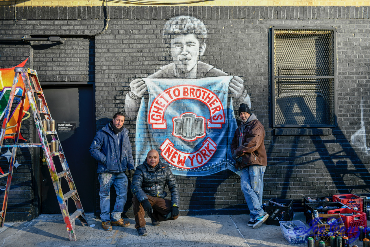 Ghetto-Brothers-mural, 'Rubble Kings': How the violence stopped and hip hop emerged in the South Bronx, Culture Currents