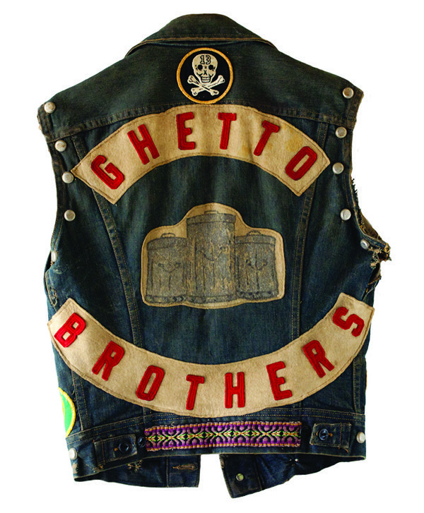 Ghetto-Brothers-vest-back, 'Rubble Kings': How the violence stopped and hip hop emerged in the South Bronx, Culture Currents