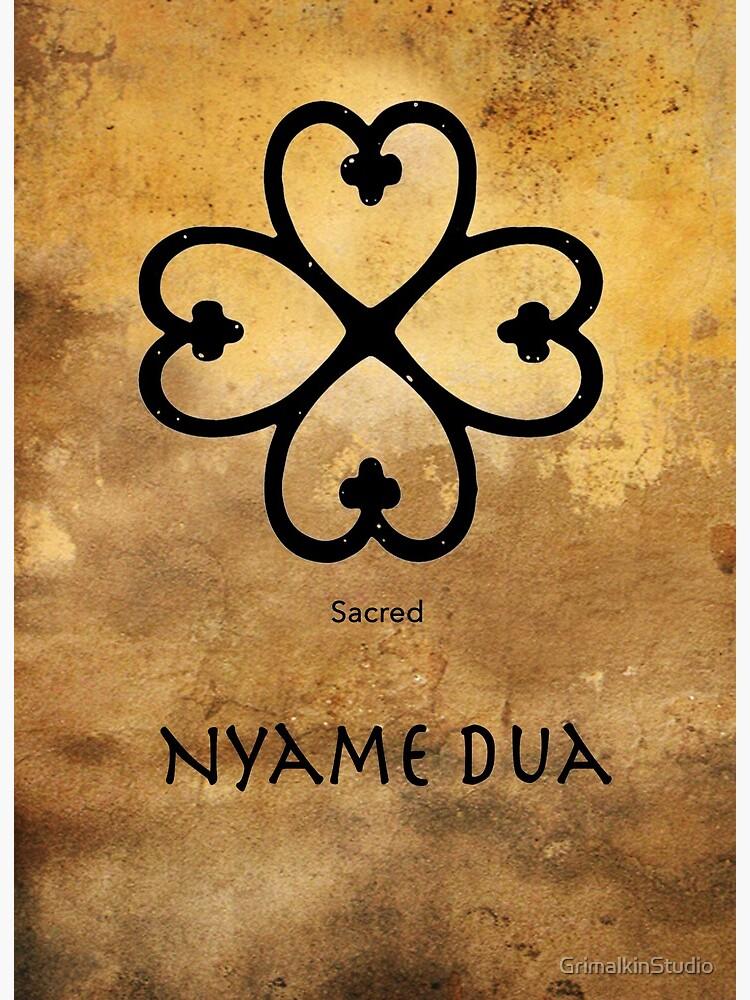 Nyame-Dua-Adinkra-symbol-of-Gods-presence-and-protection, Wanda's Picks for November 2020, Culture Currents