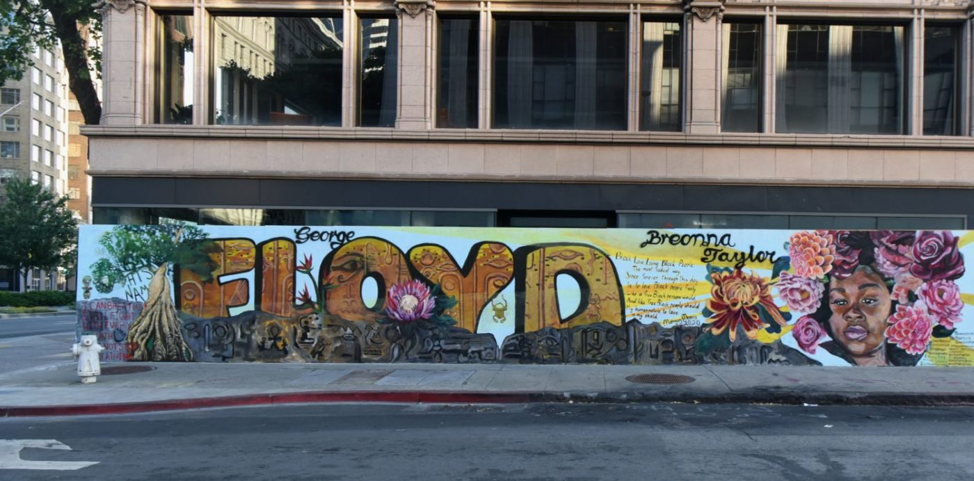 Oakland-mural-George-Floyd-Breonna-Taylor-2020-by-Johnnie-Burrell-1400x692, Advocacy without results is dead, National News & Views