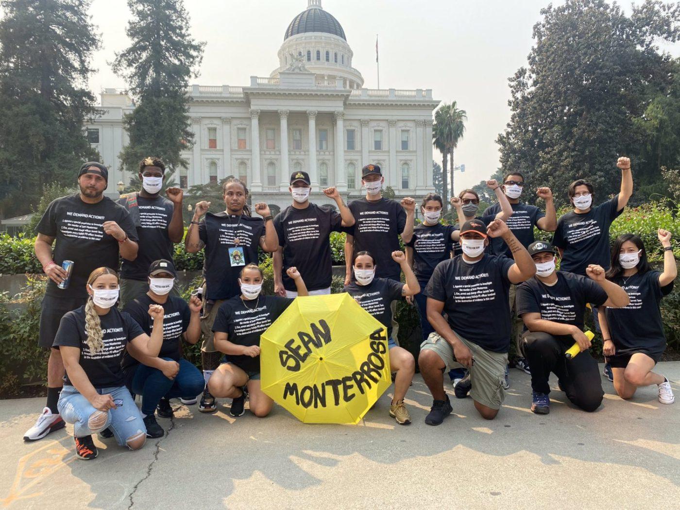 Action-in-Sacramento-Sean-Monterrosa_1020-1-1400x1050, Open letter to Gov. Newsom: Hold police accountable and investigate the Vallejo police killing of Sean Monterrosa, Local News & Views