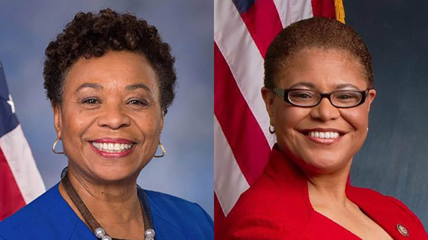 Barbara-Lee-Karen-Bass-for-Senate-1400x788, Women leaders on Sen. Harris replacement: 'One is not enough, zero is unacceptable', National News & Views