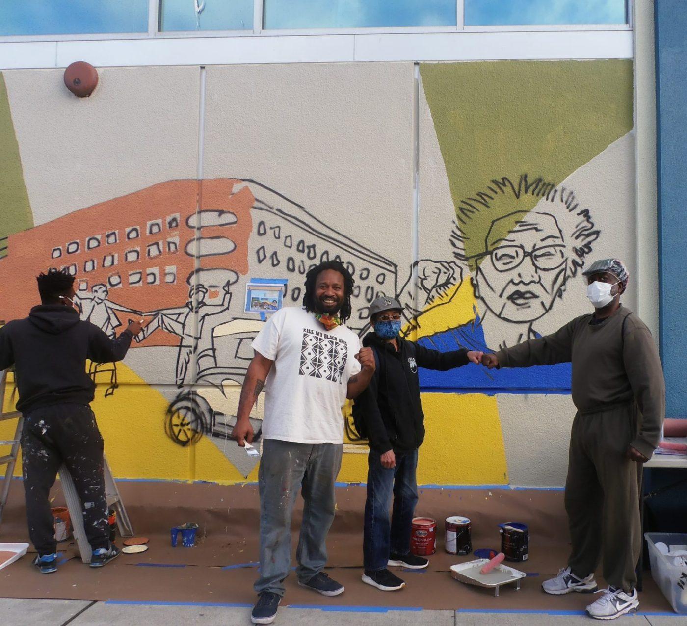 Brothers-Artistic-Eddie-Kochiyama-Jahahara-work-on-Mama-Yuri-Kochiyama-SPH-mural-1400x1276, Urgent appeal to President Trump, World News & Views