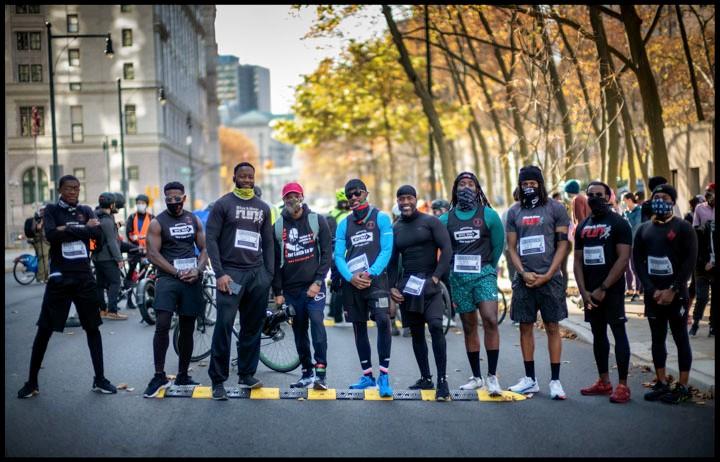 Justice-for-Keith-LaMar-Bomani-Shakur-5K-at-Cadman-Plaza-Brooklyn-NY-1120-by-Gary-Dean-Clarke, Keith LaMar: A Love Supreme, Behind Enemy Lines