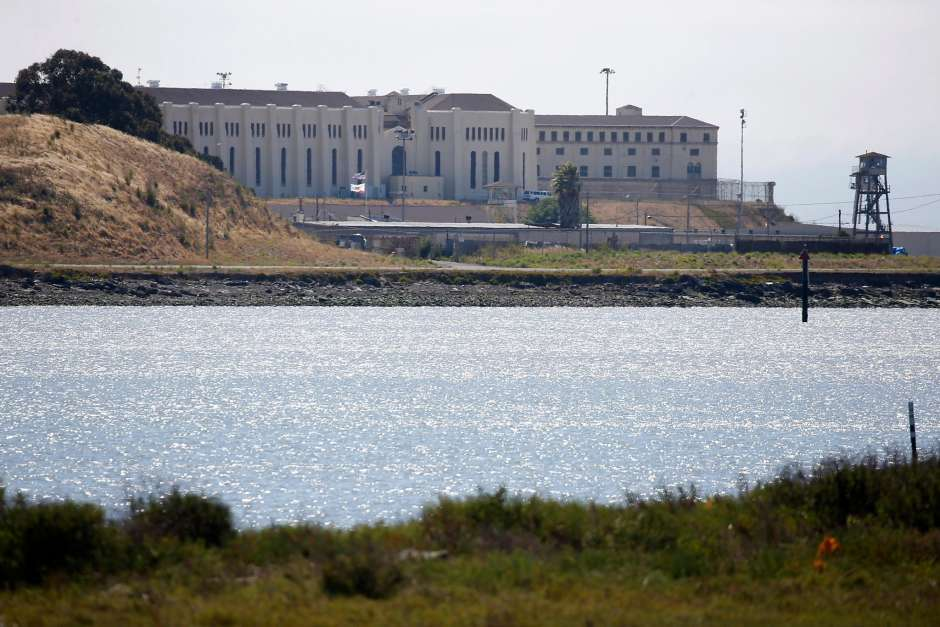 San-Quentin-State-Prison-on-SF-Bay-eastern-shore-062520-by-Paul-Chinn-SF-Chron, San Quentin prison staff forcing prisoners to accept liability for their own deaths from COVID-19, Behind Enemy Lines