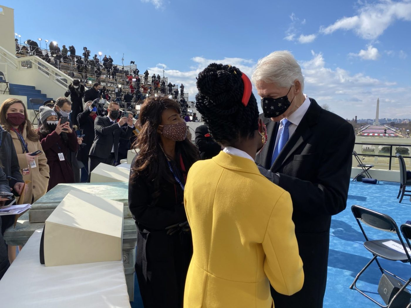 Amanda-Gorman-Bill-Clinton-Inauguration-Day-012021-by-Rep.-Jim-Costa-1400x1050, On the Brown Side: Insurrection, inauguration and rebirth, National News & Views