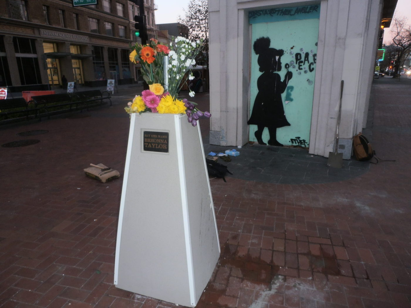 Breonna-Taylor-bust-destroyed-in-Oakland-122820-by-Jahahara-1400x1050, Commemorating our sacred Alkebulan-Afrikan Story, Culture Currents