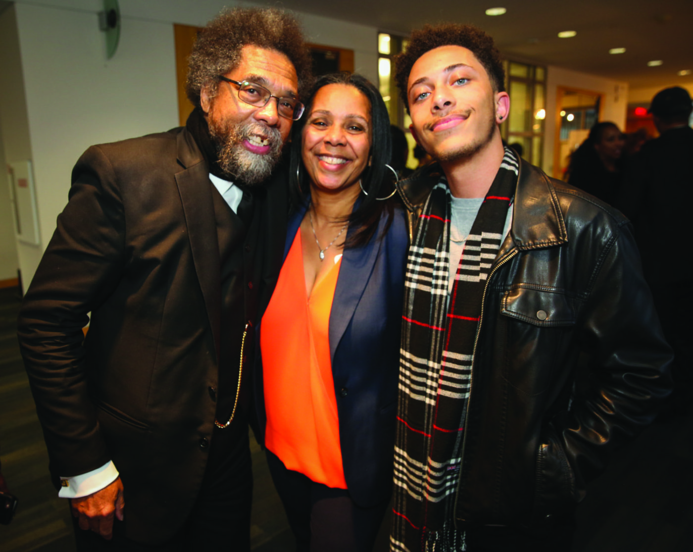 Dr.-Cornel-West-HRC-ED-Sheryl-Evans-Davis-her-son-Henry-Lee-Davis-III-USC-student-at-HRC-25th-Anniv-Evening-with-Dr.-Cornel-West-042718-by-Don-Bowden-1400x1115, Sheryl Davis of the Human Rights Commission: Showing love to San Francisco through service, Local News & Views