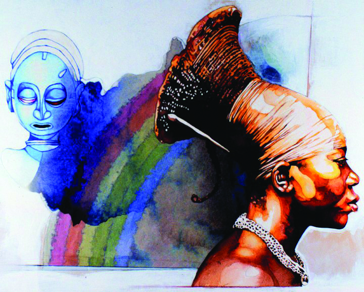 Golden-Woman-art-by-James-Gayles, Wanda's Picks for January 2021, Culture Currents