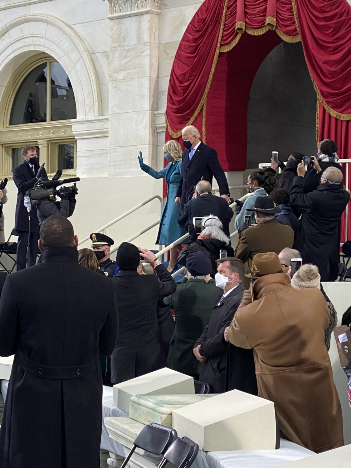 Joe-and-Jill-Biden-Capitol-steps-Inauguration-Day-012021-by-Rep.-Jim-Costa, On the Brown Side: Insurrection, inauguration and rebirth, National News & Views