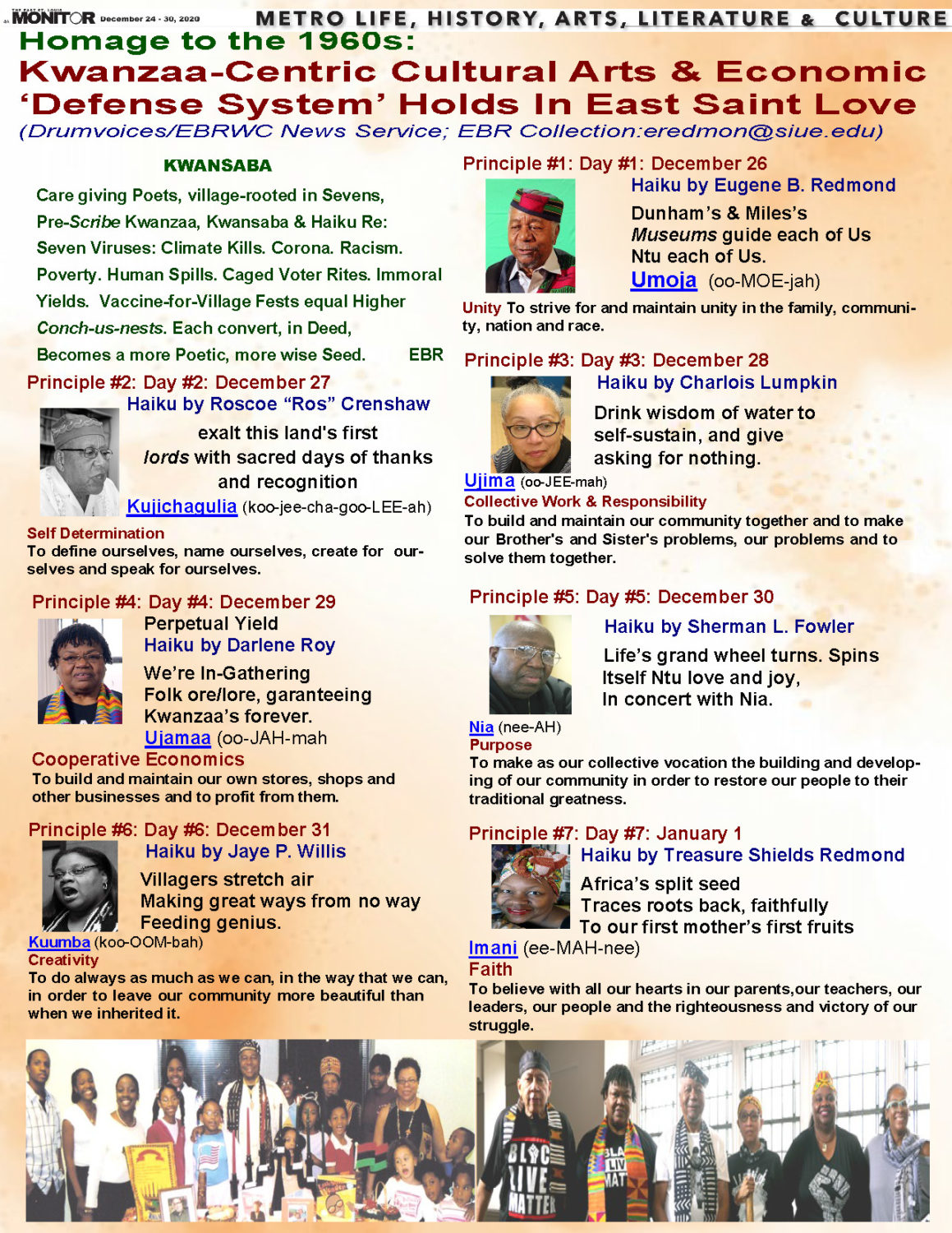 Kwanzaa-centric-cultural-arts-and-economic-defense-system, Wanda's Picks for January 2021, Culture Currents