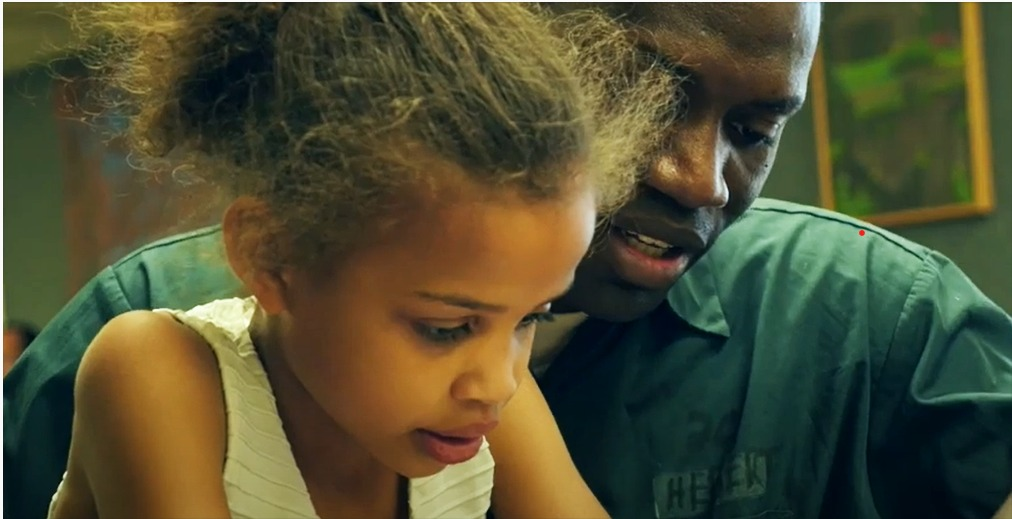 Lil-girl-visits-dad-in-prison, Parenting from prison: Ways to maintain your family ties while incarcerated, Culture Currents