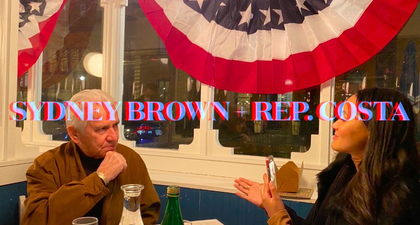 Rep.-Jim-Costa-reporter-Sydney-Brown-012021-by-Lee-Houskeeper, On the Brown Side: Insurrection, inauguration and rebirth, National News & Views