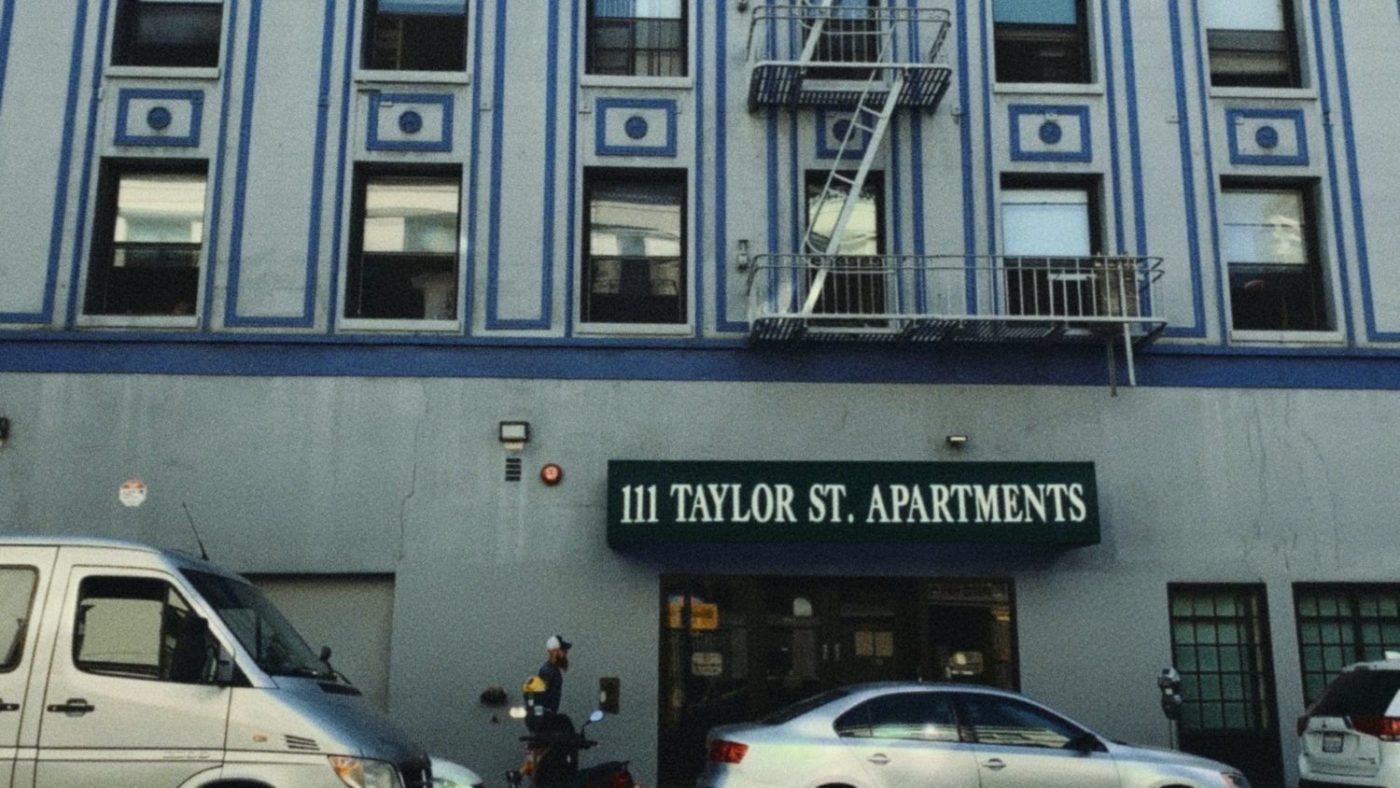 111-Taylor-Street-Apartments-bldg-front-from-One-Eleven-Taylor-film-1-1400x788, New documentary exposes COVID crisis at private SF prison, Local News & Views