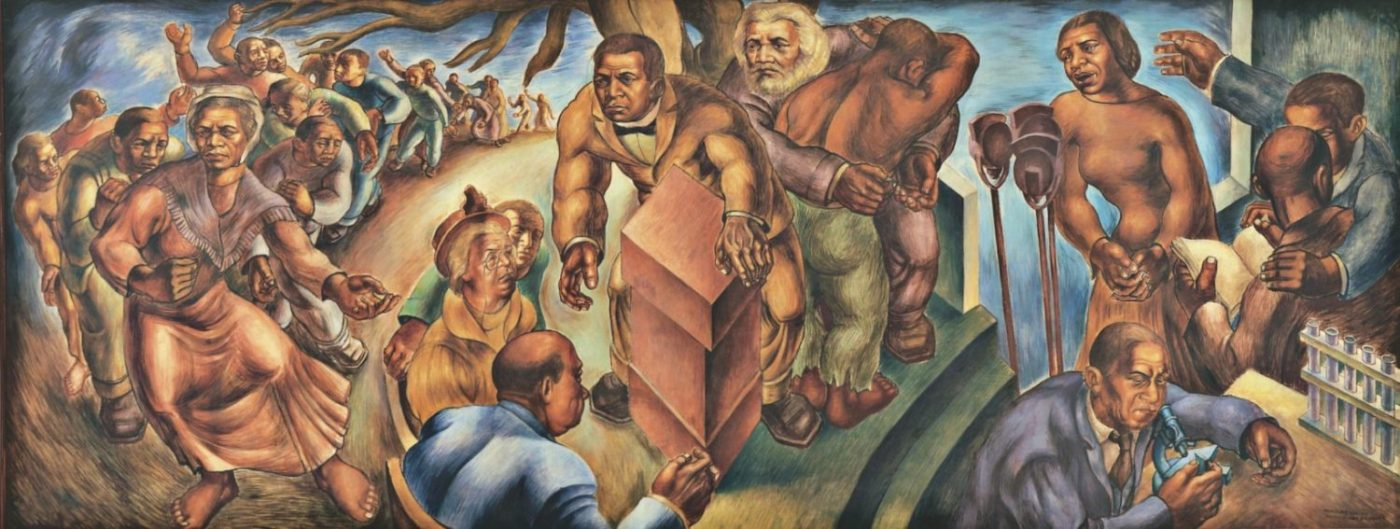 Five-Great-American-Negroes-–-Sojourner-Truth-Frederick-Douglass-Booker-T.-Washington-George-Washington-Carver-Marian-Anderson-–-art-by-Charles-White-1939-1400x529, Humanists – where are you?, Culture Currents