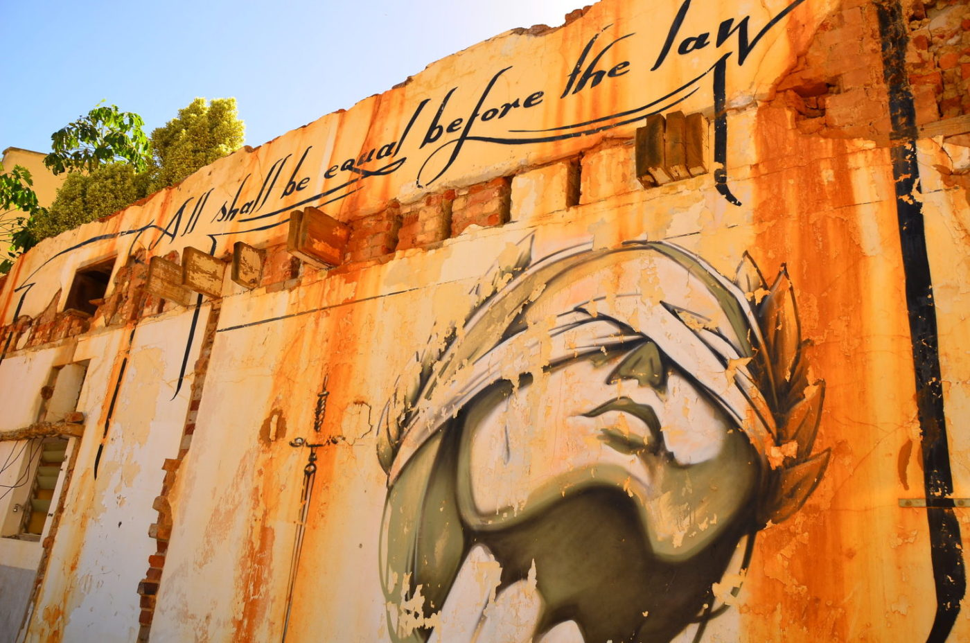 All-shall-be-equal-before-the-law-justice-graffiti-in-Cape-Town-South-Africa-by-Ben-Sutherland-1400x928, Afrikan, New Afrikan, Black humanity, Behind Enemy Lines