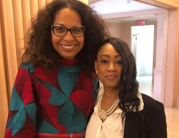 Assemblymember-Sydney-Kamlager-Dove-with-Jamilia-Land-sponsor-contributor-to-ACA-3, Asm. Sydney Kamlager-Dove pushing law to end slavery in California's prisons, Behind Enemy Lines