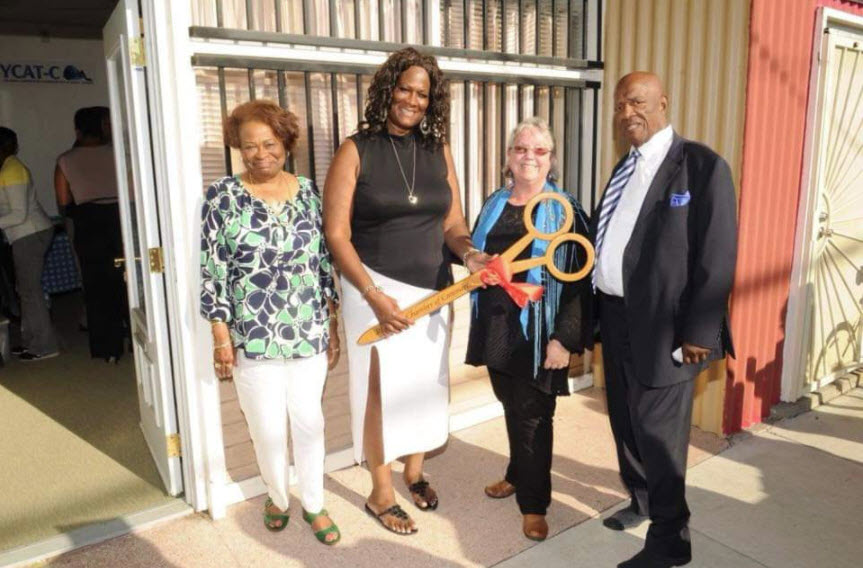 At-the-ribbon-cutting-ceremony-of-a-brand-new-YCAT-C-office-in-2016-are-Annett-Walker-Yolanda-Jones-Richmond-Mayor-Gayle-McLaughlin-and-Charlie-Walker, Yolanda Jones: Celebrating a Black Queen and a BOSS!, Culture Currents