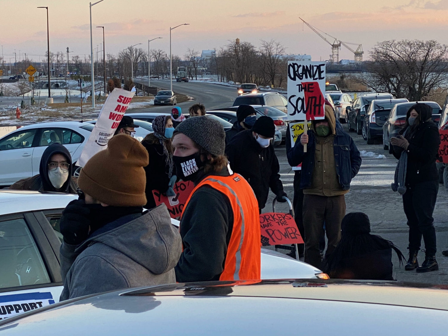 Baltimore-Maryland-scaled-3, Black Workers Matter! Nationwide protests supporting Amazon workers in Alabama from the Bay to Harlem, National News & Views Photo Gallery