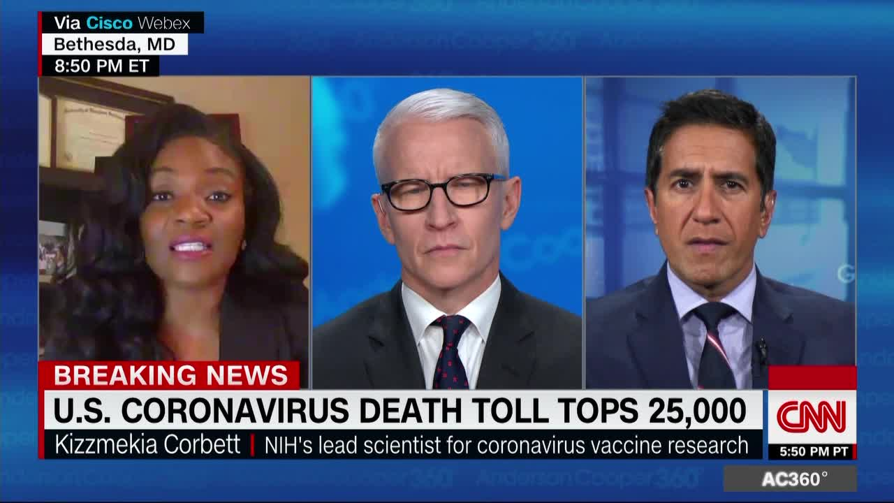 Dr.-Kizzmekia-Corbett-and-Anderson-Cooper-CNN, New COVID-19 vaccine resource honors skepticism among Black Americans, National News & Views