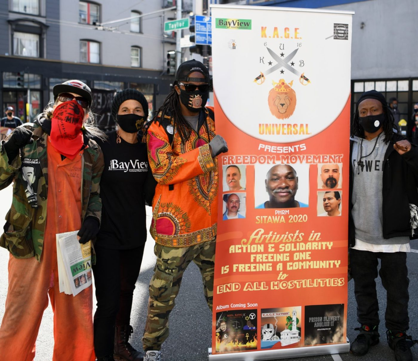 Free-Malik-rally-111-Taylor-Tiny-Nube-Min.-King-Jabari-Scott-030721-by-Johnnie-Burrell-1400x1209, Journalist detained at GEO Group halfway house faces retaliation for exposing COVID-19 outbreak, Local News & Views