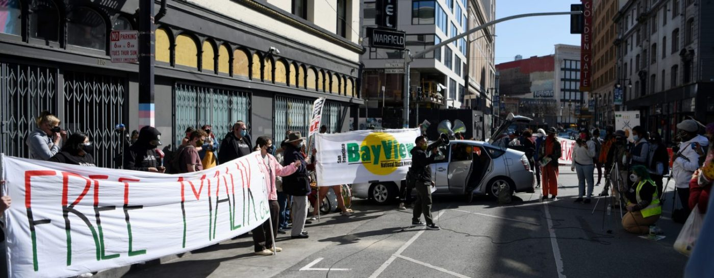 Free-Malik-rally-111-Taylor-street-scene-crowd-030721-by-Johnnie-Burrell-1400x545, Journalist detained at GEO Group halfway house faces retaliation for exposing COVID-19 outbreak, Local News & Views