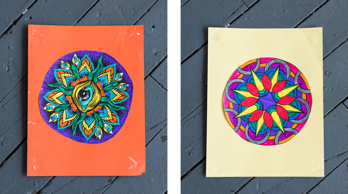 Mandalas-symbols-of-the-universe-or-completeness-and-self-unity-art-by-women-prisoners-at-Rikers-Island, Free yourself into forgiveness, Behind Enemy Lines