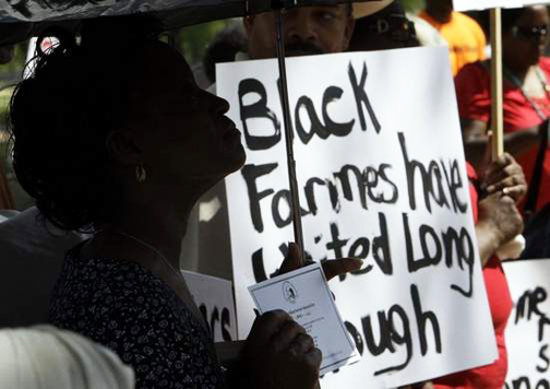 National-Black-Farmers-Assoc.-led-by-Dr.-John-Boyd-rallies-in-DC-042809-by-Alex-Brandon-Montgomery-Advertiser, Black farmers hail $5 billion in COVID relief to redress generations of racism, National News & Views