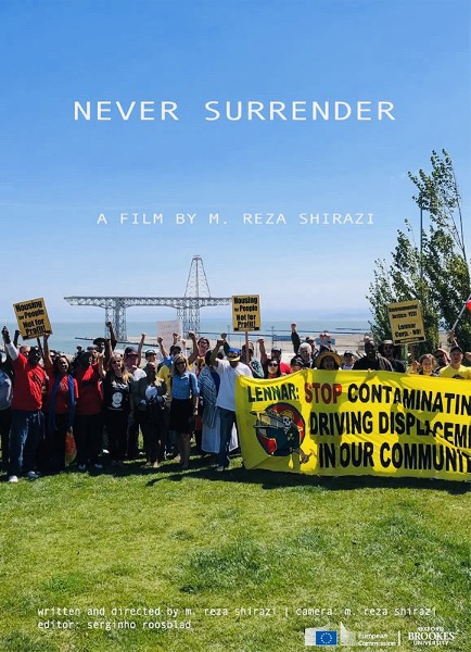 Never-Surrender-a-film-by-M.-Reza-Shirazi-flier-1, Never cease to explore!, Local News & Views