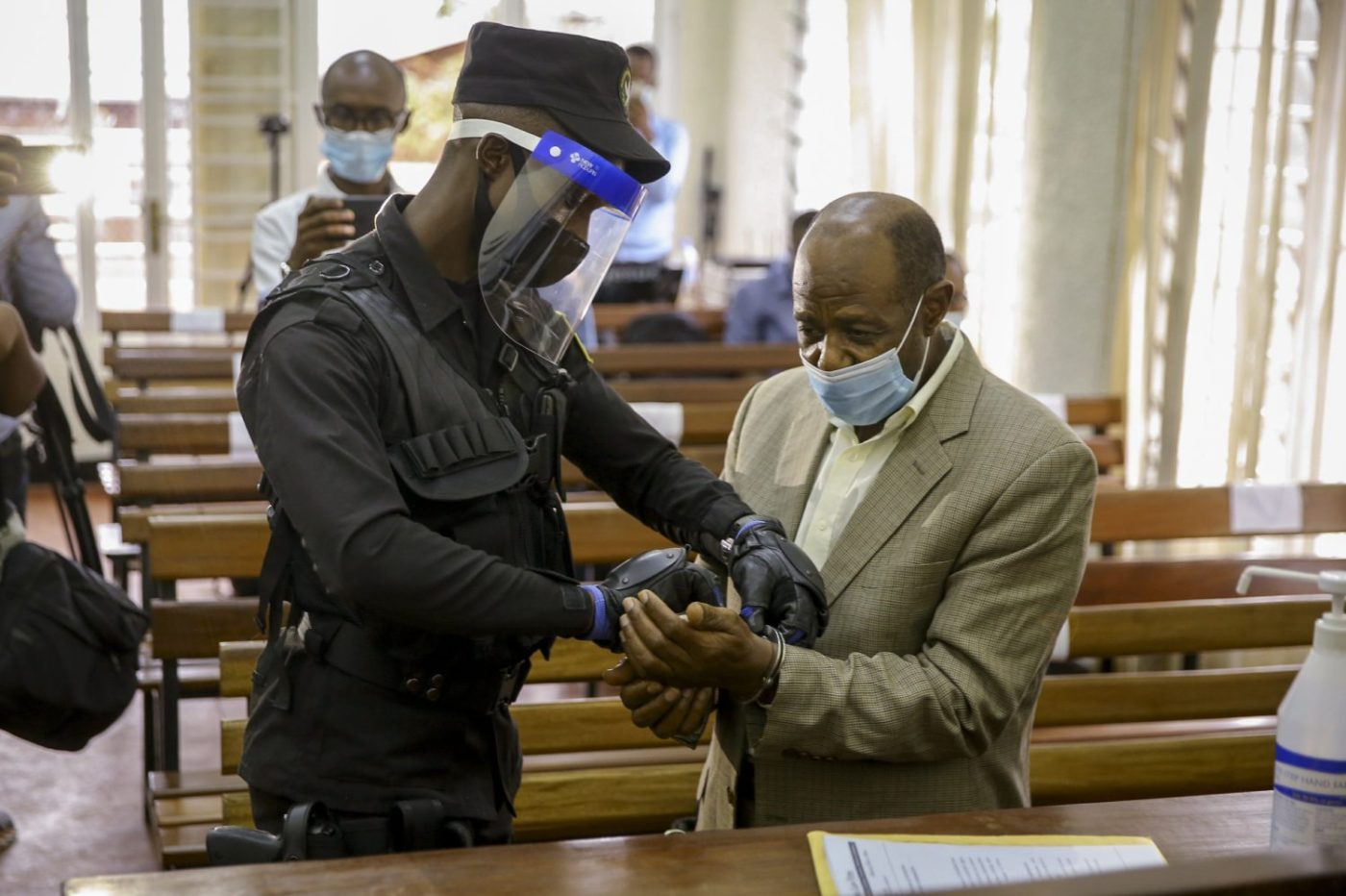 Rusesabagina on trial and the shooting deaths of a Rwandan dissident and an Italian ambassador