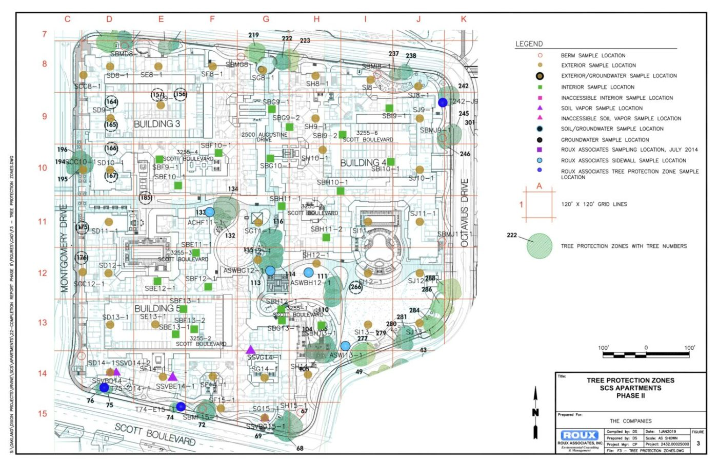 Tree-Protection-Zone-map-Santa-Clara-Square-Apartments-toxic-soil-cy-Ashley-Gjovik-1400x906, I thought I was dying: My apartment was built on toxic waste, Local News & Views