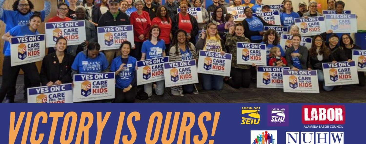 Measure C: Oakland must fully fund child care now!