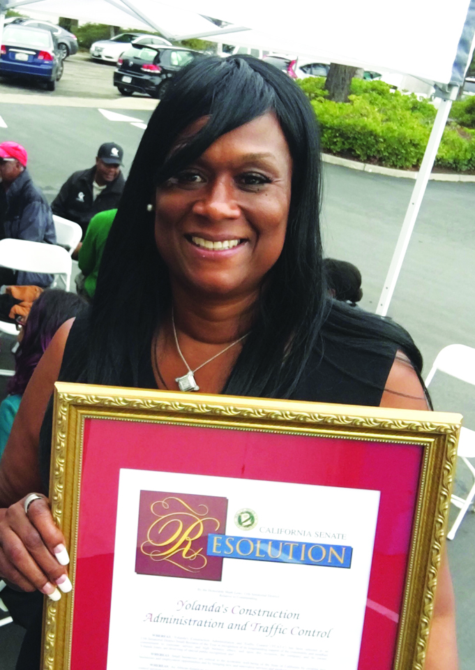 Yolanda-Jones-CEO-of-YCAT-C-awarded-Small-Business-of-the-Year-proclamation-by-Sen.-Mark-Leno-1016, Yolanda Jones: Celebrating a Black Queen and a BOSS!, Culture Currents