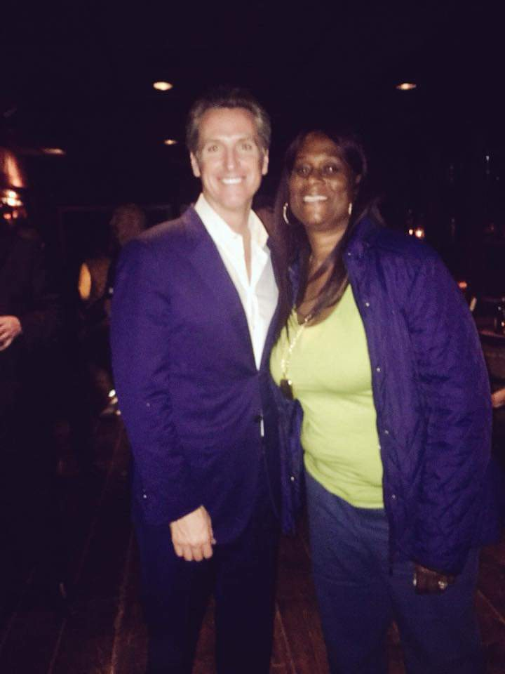Yolanda-Jones-and-Lt.-Gov.-Gavin-Newsom-at-Chris-Gruwell-business-event, Yolanda Jones: Celebrating a Black Queen and a BOSS!, Culture Currents