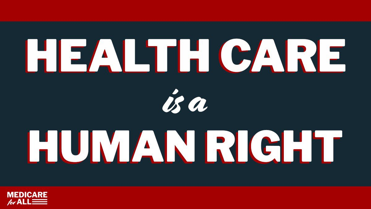 Health-Care-is-a-Human-Right-graphic, BLM Global Network Foundation endorses Medicare For All legislation, National News & Views