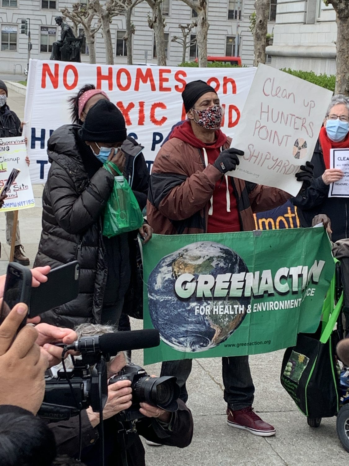 Hunters-Point-Mothers-Fathers-Committee-speak-Earth-Day-Rally-City-Hall-042221, Earth Day 2021 in San Francisco!, Local News & Views