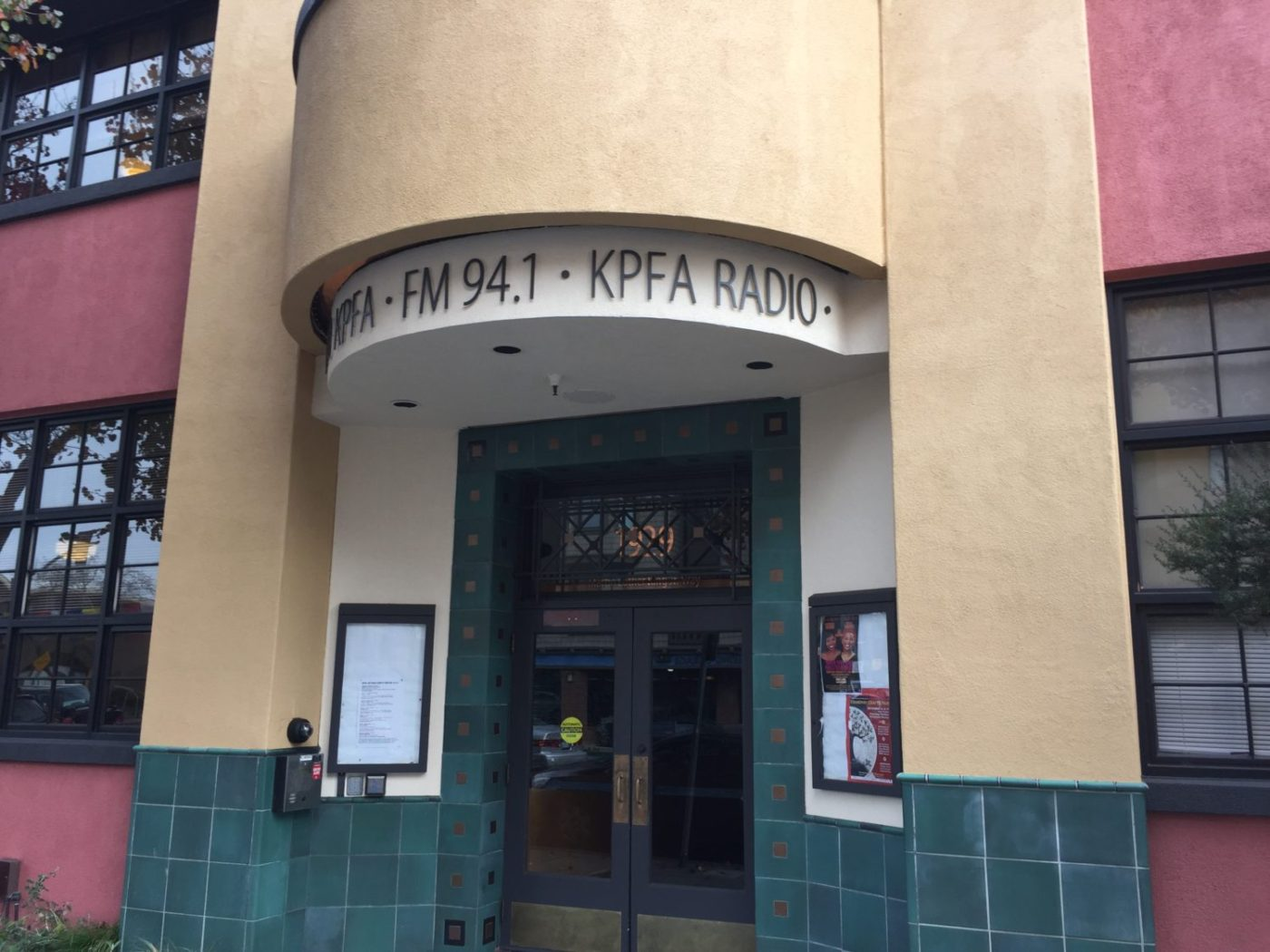 KPFA-building-entrance-1400x1050, Pacifica Radio: Let's talk about the debt, Local News & Views