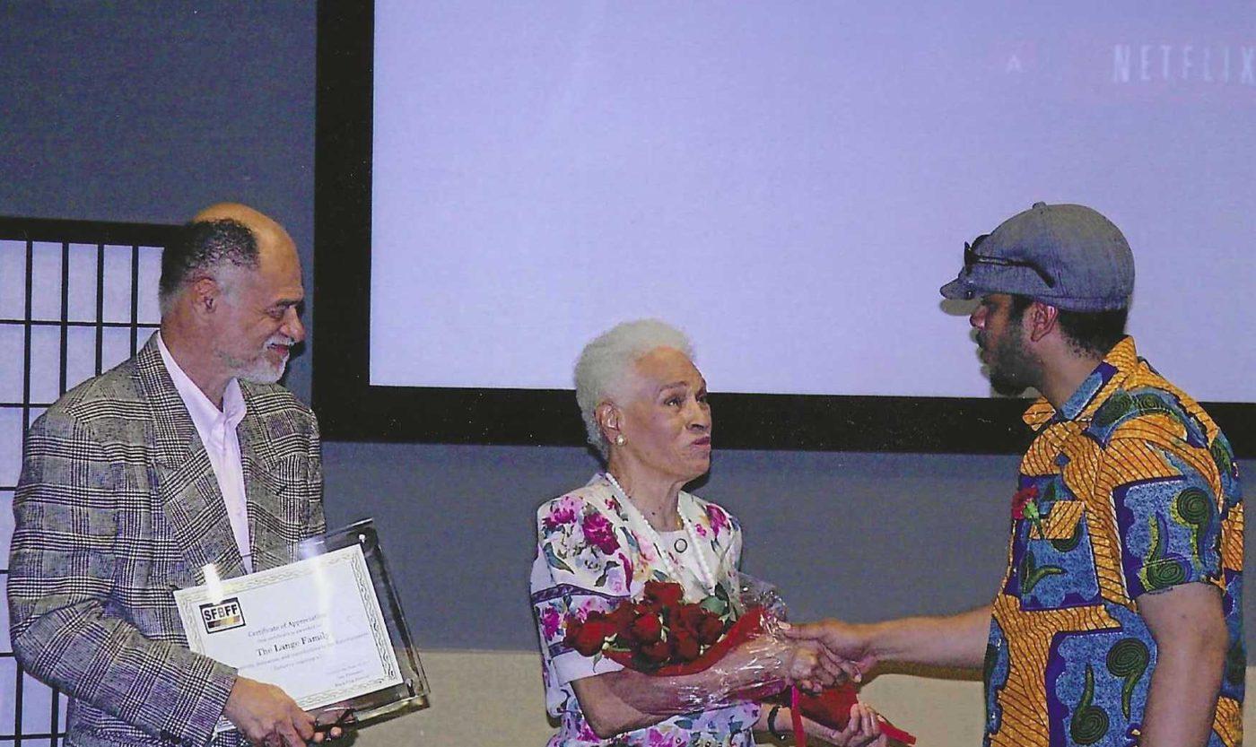 Kali-ORay-2011-SFBFF-honors-Jerri-Lange-and-son-Michael-Lange-1400x833, Jerri Lange, Bay Area media legend, social activist, educator and author, has passed, Culture Currents